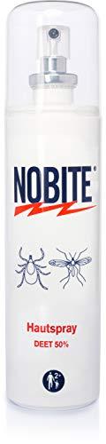 NOBITE Hautspray, Insektenschutzspray zum Auftragen auf die Haut (100 ml)