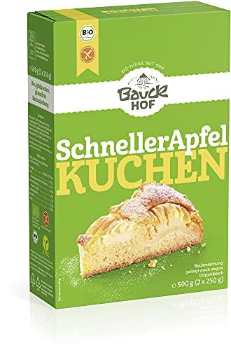Bauckhof Schneller Apfelkuchen glutenfrei Bio (2 x 500 gr)