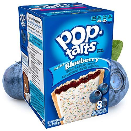 Kelloggs® - POP TARTS | BLUEBERRY (Frosted) | 8 Törtchen | 384 g