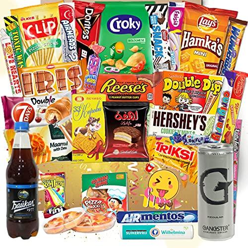 Süssigkeiten aus verschiedenen Ländern | 26 x Süßigkeiten Mix | USA Box | Asia, Russia, Arabic Schokolade | Party Box | Snackbox | Candy Mix 🍬 asiatische snacks 🍬 Süßigkeiten aus aller Welt