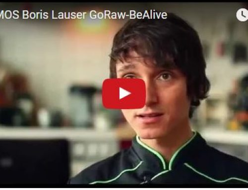 "Video von Boris Lauser zu ""Go Raw Be Alive"""