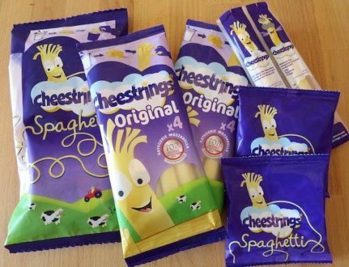 Cheestrings-Käse-Snack zum Abziehen (sponsored)