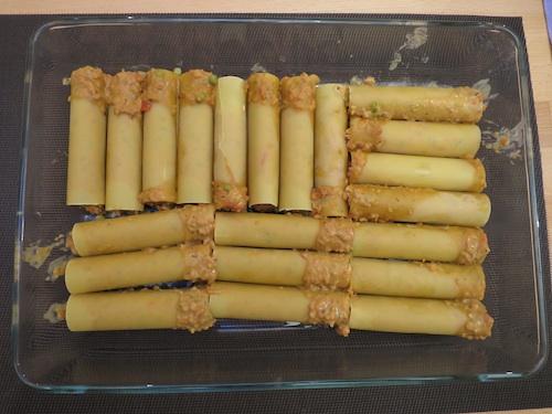 Canelloni vegetarisch 2