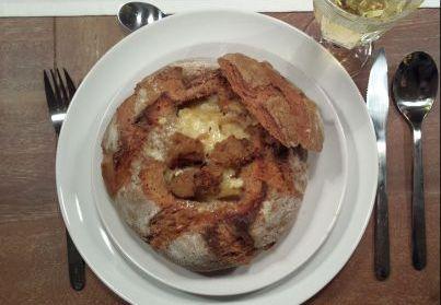 Französische Zwiebelsuppe