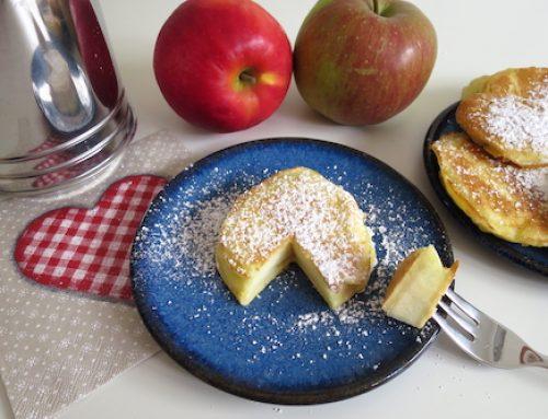 Winterliche Apfelküchlein