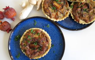 Steinpilz-Tartelettes Fingerfood