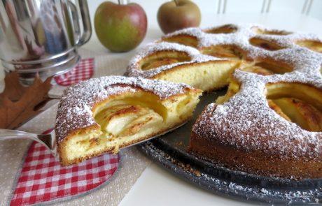 Apfelkuchen Frühlingskuchen