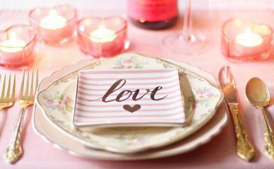 Menü Valentinstag
