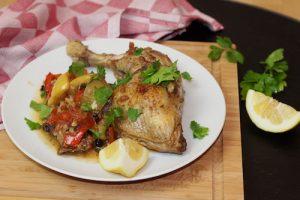Huhn auf Marokkanische Art