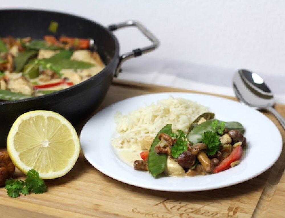 Sommergericht Pfifferling-Curry