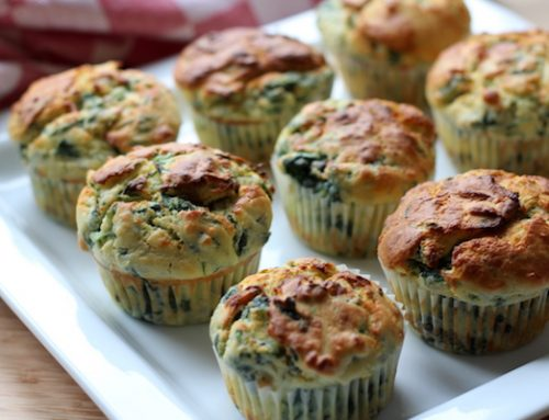Ricotta-Spinat Muffins – ein herzhaftes Fingerfood Rezept