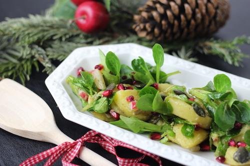 Winter-Kartoffelsalat als Fondue Beilagen