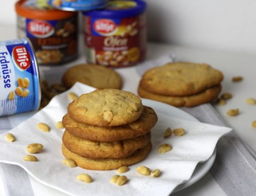 Anzeige: ültje Erdnuss Cookies